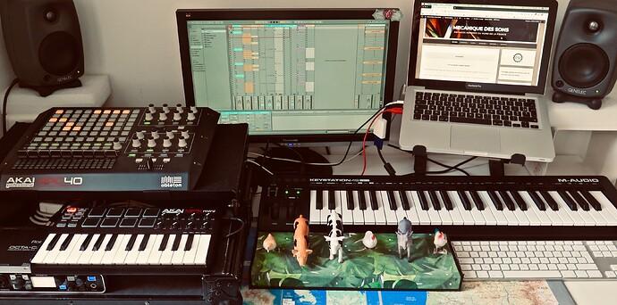 Home studio Mecano3